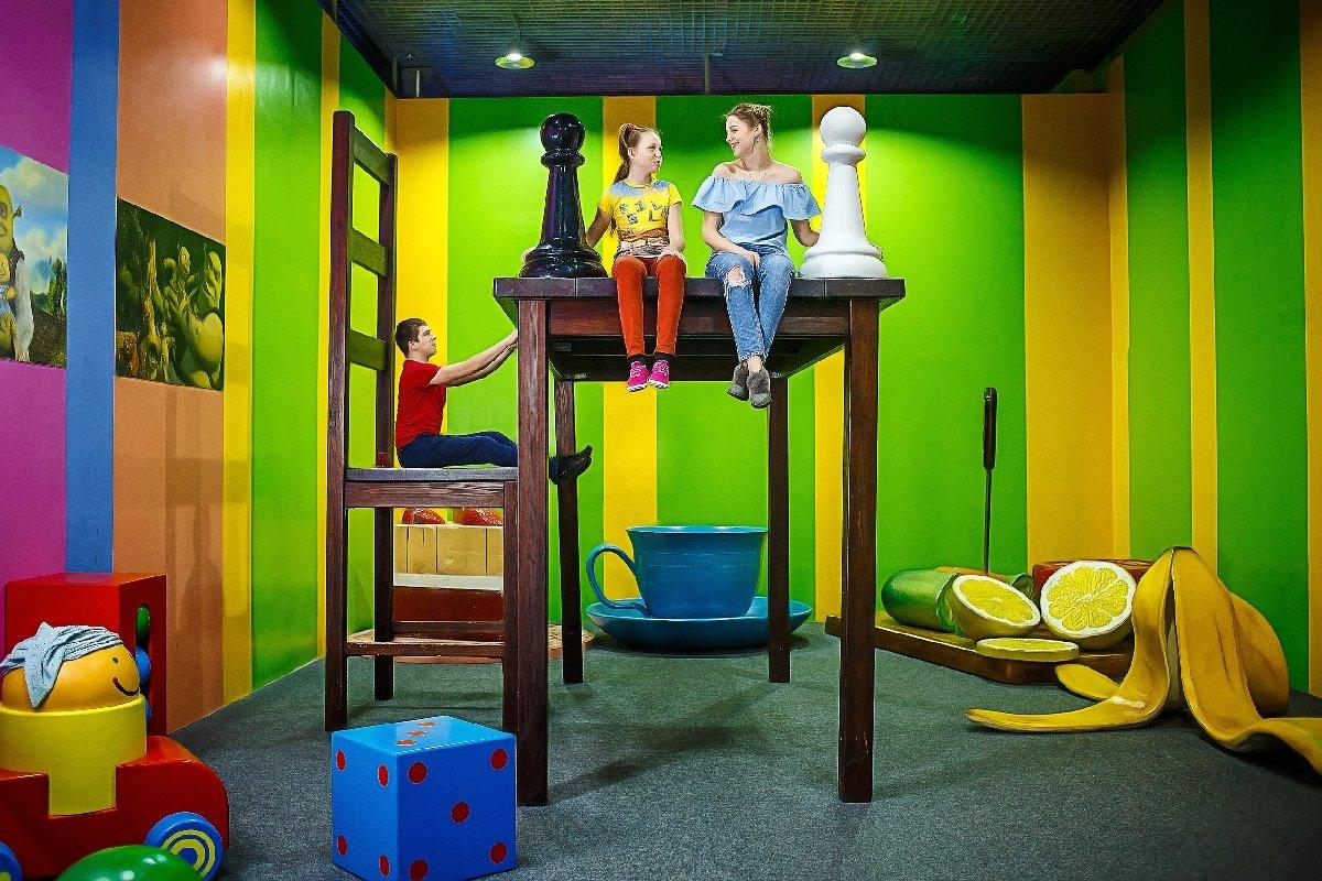 Семейный отдых вразвлекательных музеях иаттракционах Big Funny