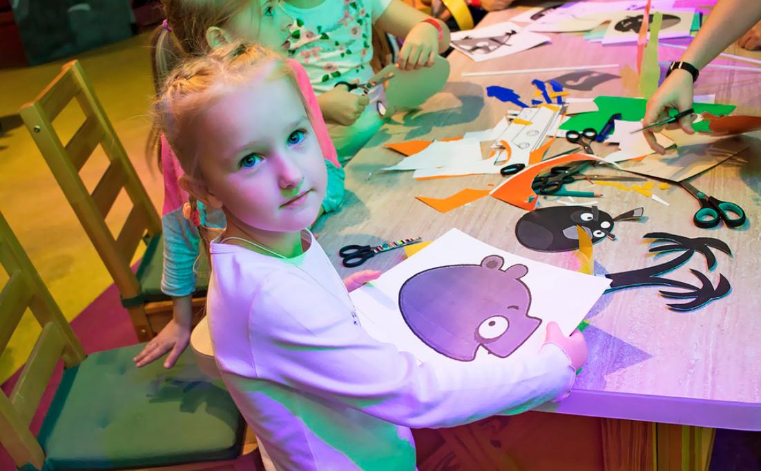 Выставка «Остров детства» вAngry Birds Activity Park