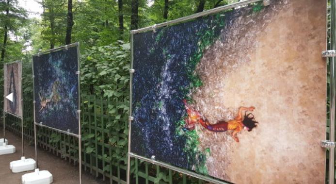 Выставка «Русалки ненавидят пластик»