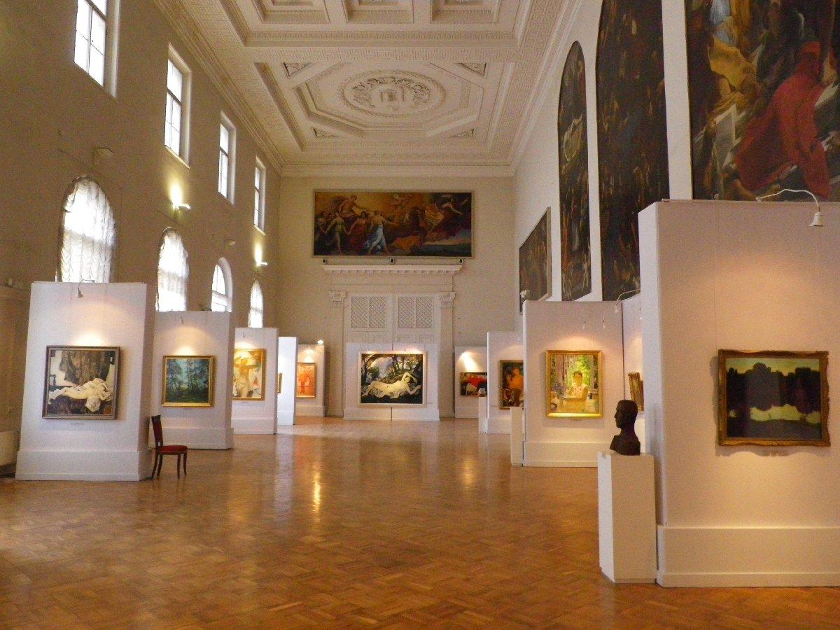 Выставка к100-летию содня рождения Андрея Андреевича Мыльникова