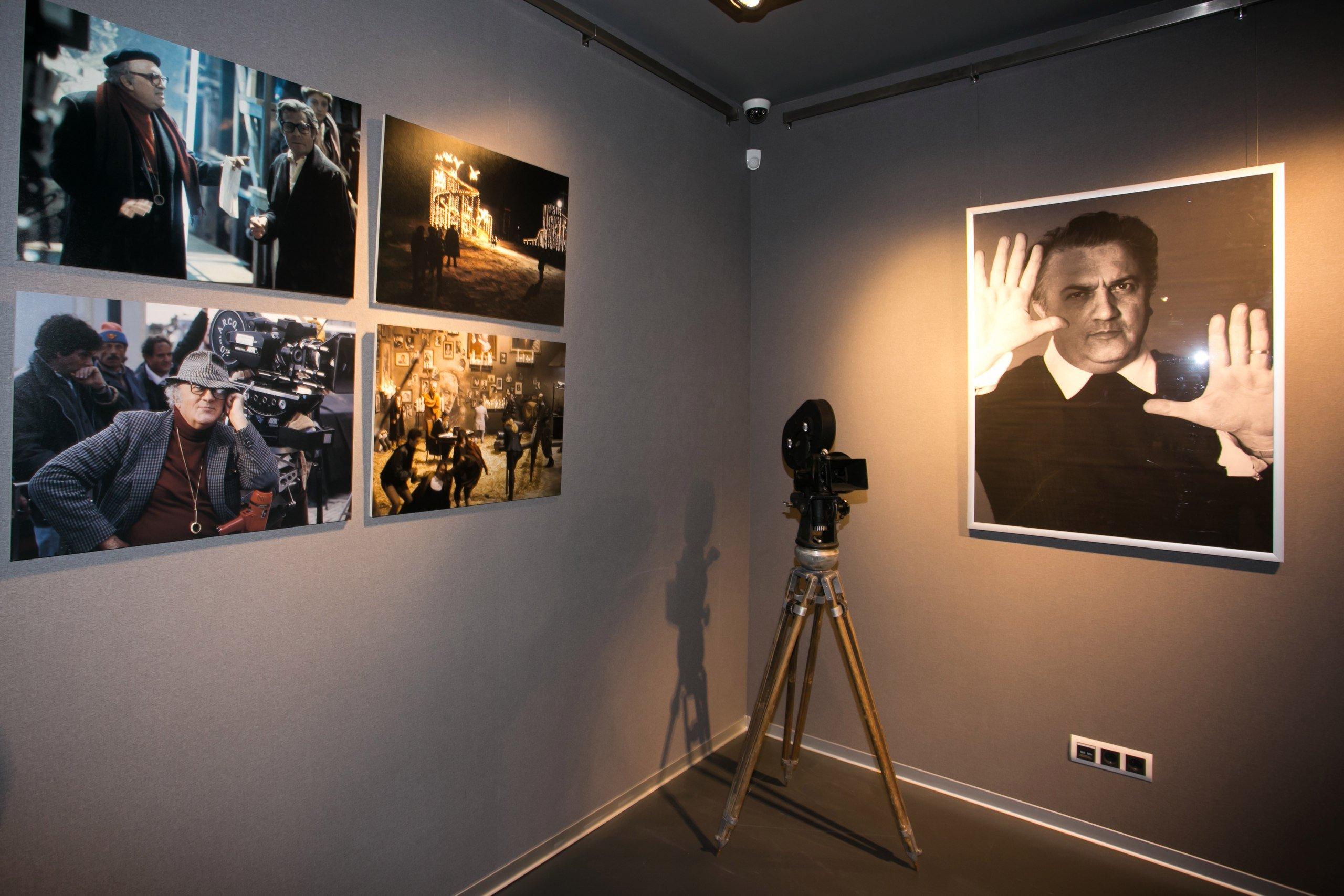 Выставка «Восхитительный мир Феллини»