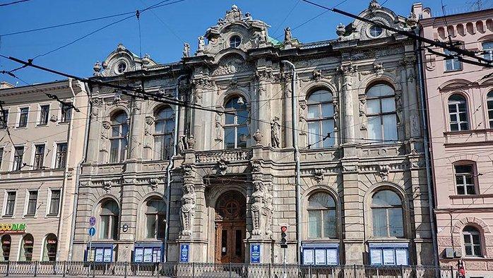 Дворец княгини Зинаиды Юсуповой