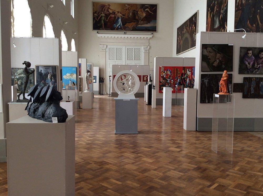 Выставка «Мир спасет любовь»