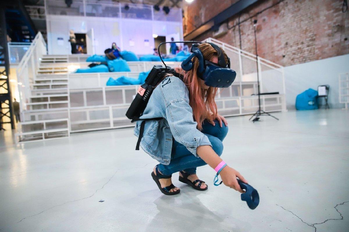 Выставка «Виртуальной Реальности KOD» вСевкабель Порт 2021