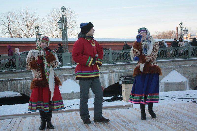 Рождественские празднования вПетропавловской крепости 2017