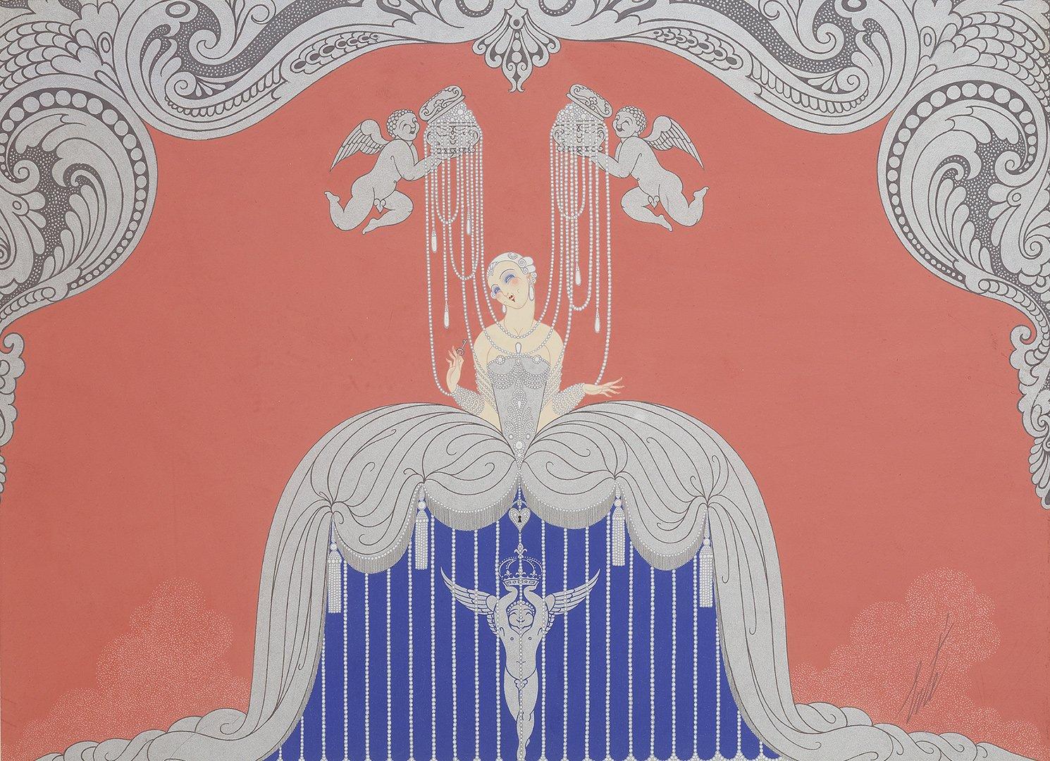 Выставка «Эрте– гений ар-деко: возвращение вПетербург»