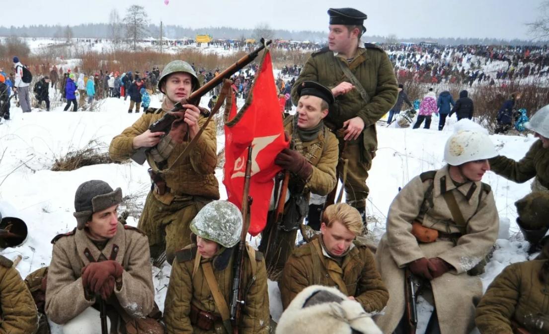 Военно-историческая реконструкция «Январский гром « 2019