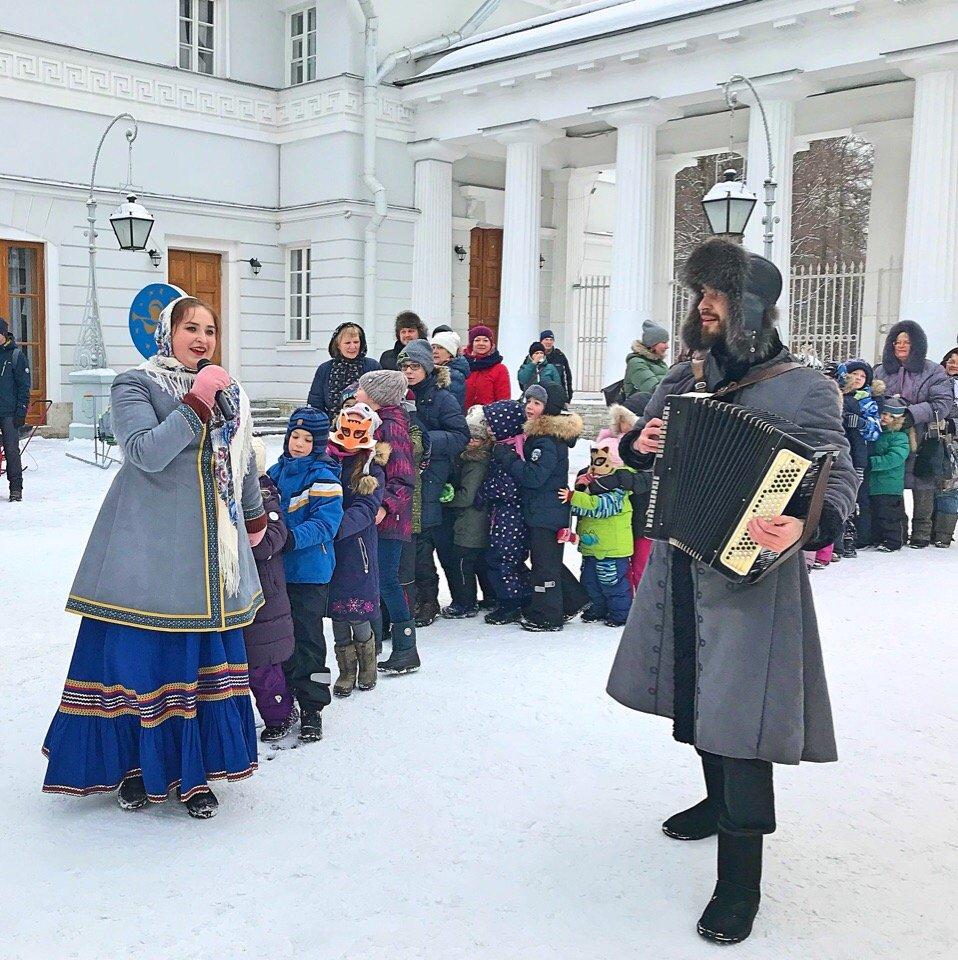 Программа для детей «Рождественские встречи наЕлагином»