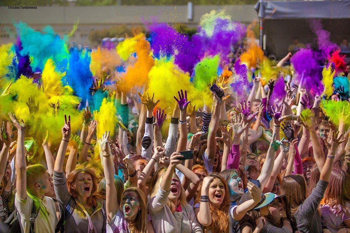 «Фестиваль красок Холи» 2016