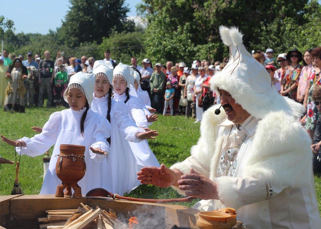 Якутский праздник «Ысыах» 2017