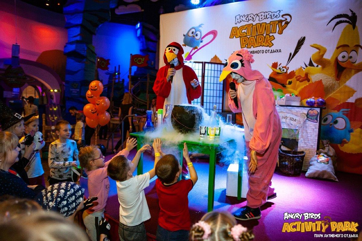 Представление для детей «Кошмар наОстрове Свинок вAngry Birds Activity Park»