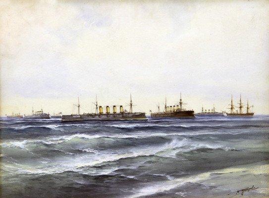 Выставка «Портрет корабля»