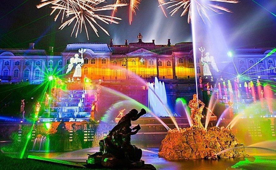 Праздник закрытия фонтанов вПетергофе 2016