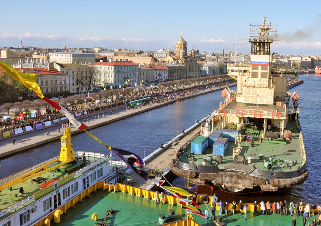 Фестиваль ледоколов вСанкт-Петербурге 2019