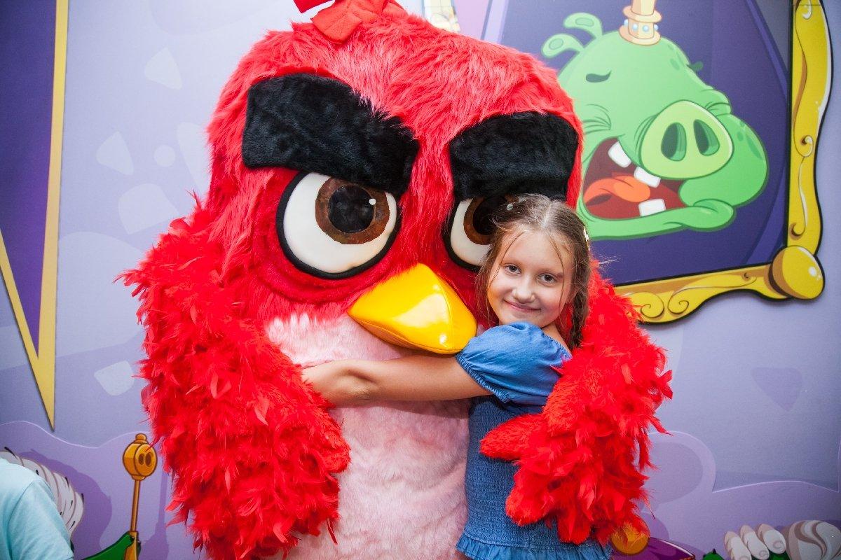 Праздник для детей «День любимого героя Angry Birds»