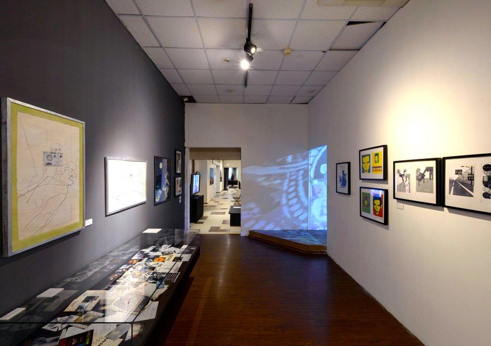 Выставка «История развития мультимедиа искусства Ленинграда– Санкт-Петербурга 1985–2000 годов»