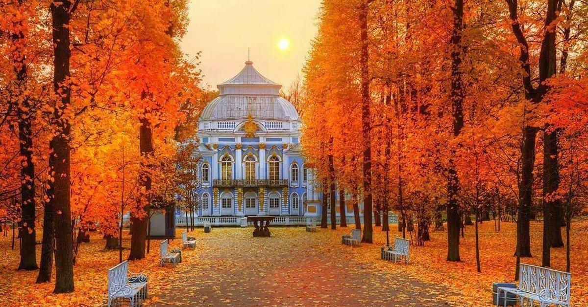 Екатерининский парк переходит назимний режим работы