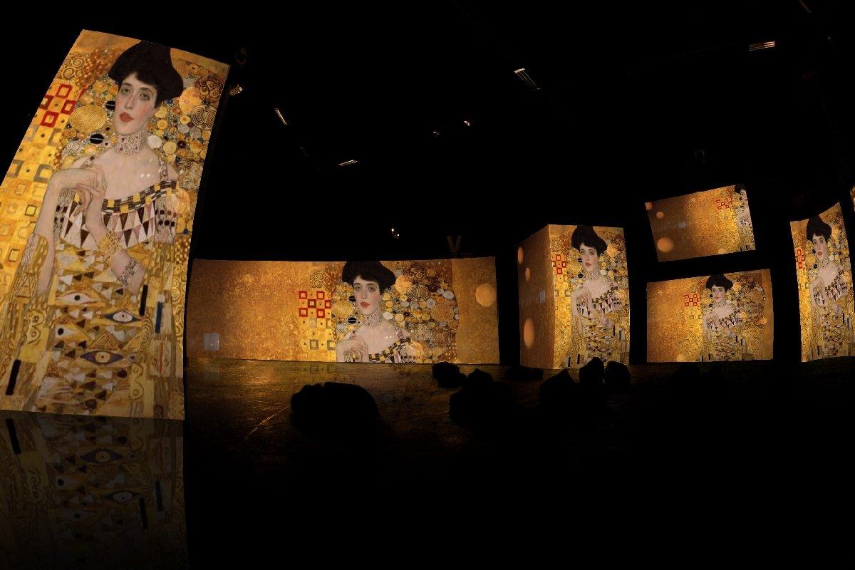 Выставка «Климт— Ожившие полотна»