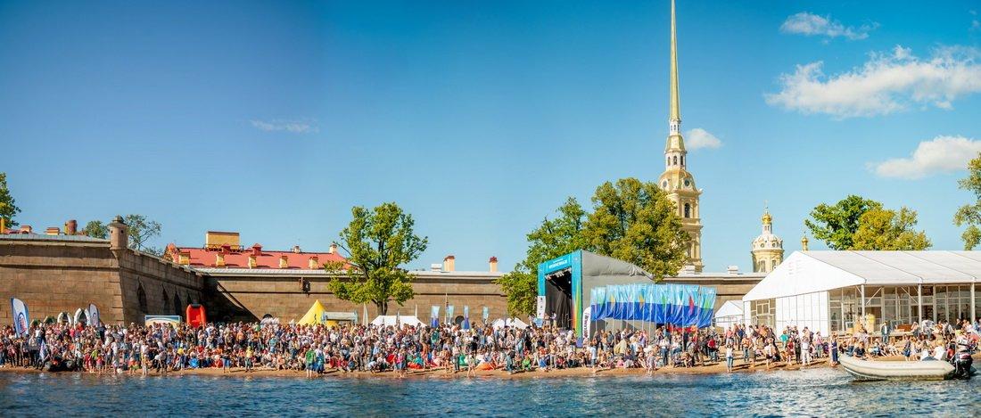 «Балет парусов» набольшом Морском Фестивале 2016