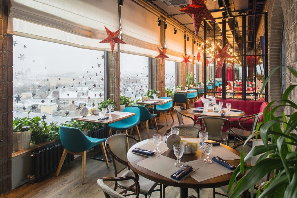 Ресторан «Паруса накрыше»