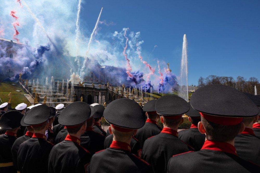 День Победы вмузее-заповеднике «Петергоф»