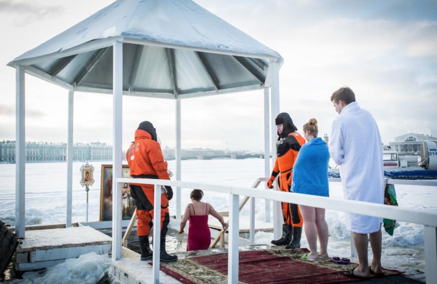 Праздник Крещения вСанкт-Петербурге 2021