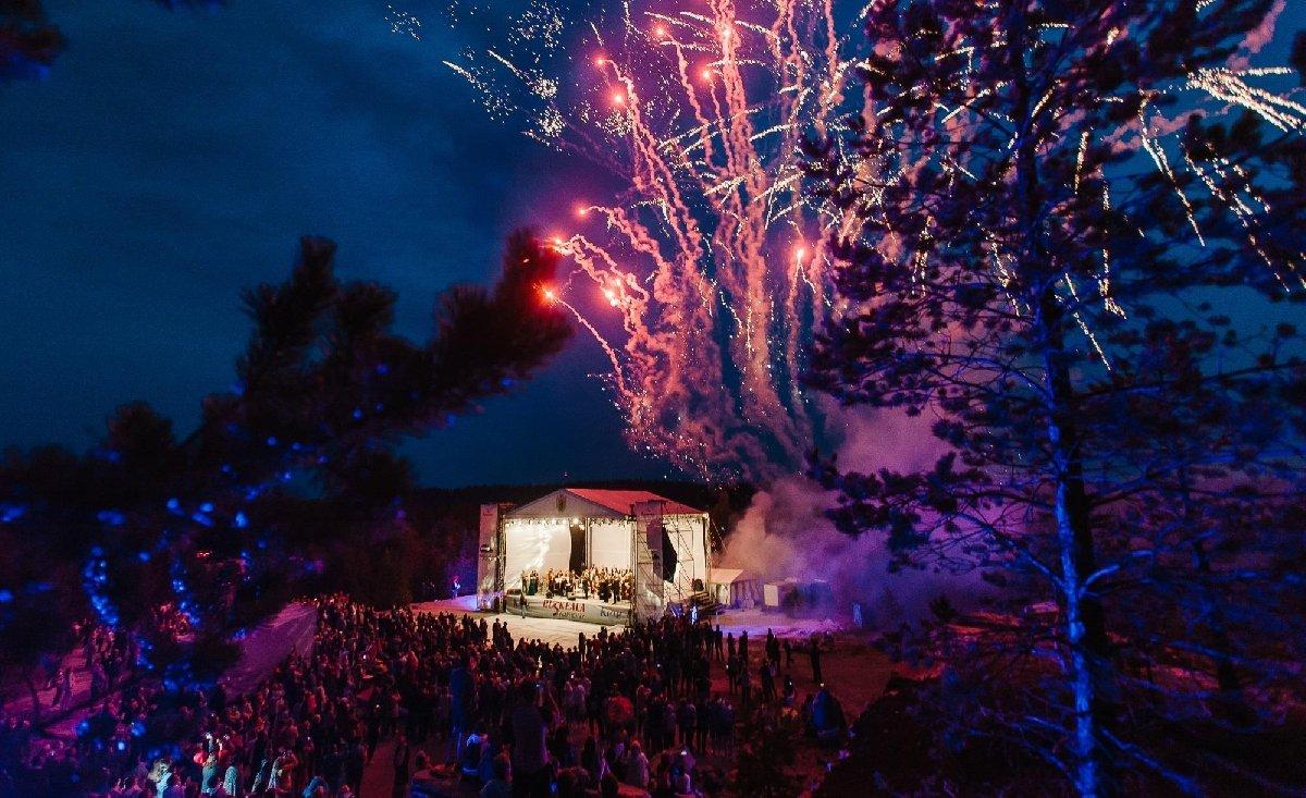 Экскурсия вКарелию спосещением международного фестиваля «Ruskeala Symphony»