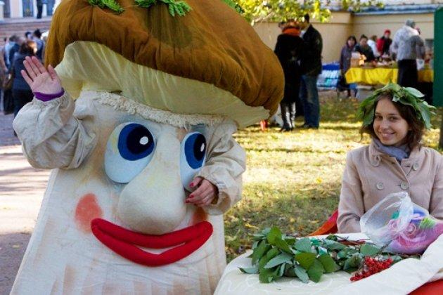 Фестиваль грибов иягод вСанкт-Петербурге 2017
