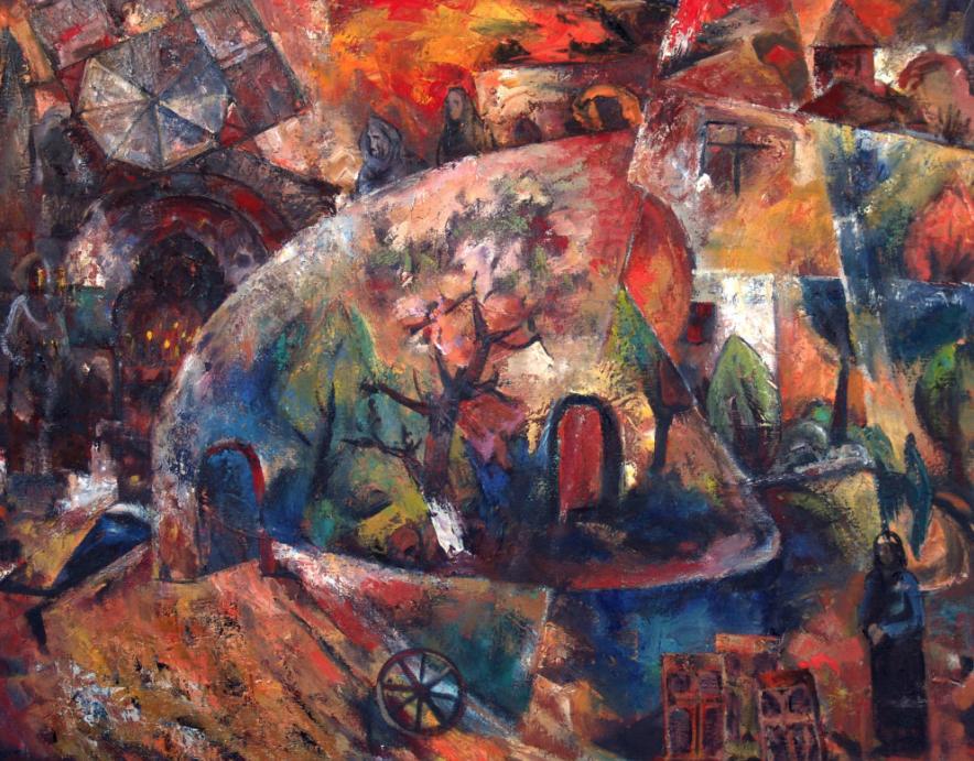 Выставка «Симфония цвета»