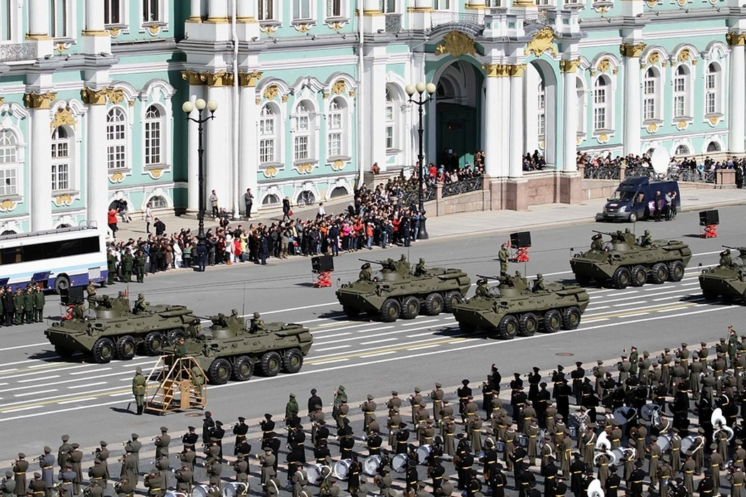 Парад Победы вСанкт-Петербурге 2019