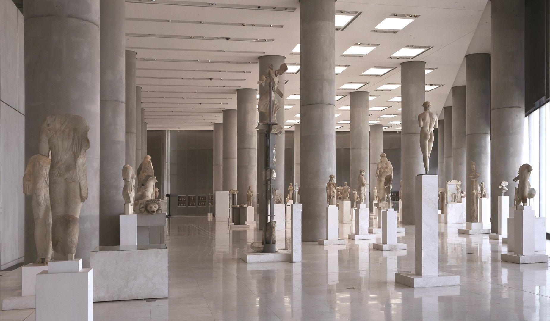 Выставка «Архаическая статуя Коры»