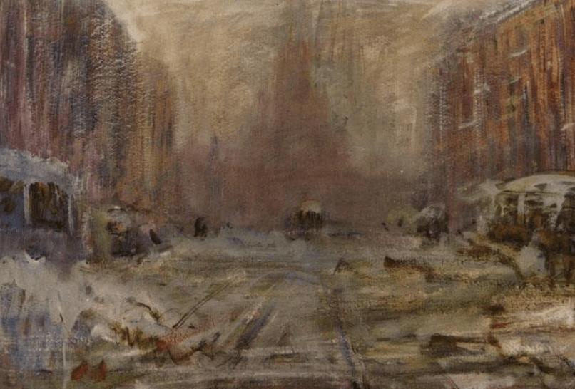 Выставка «Василий Калужнин. Жил-был наЛитейном художник»
