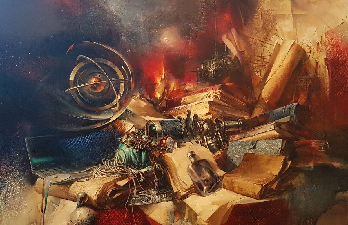 Выставка живописи Ивана Славинского «Ω TEST»