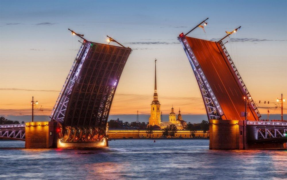 Звуковое шоу «Поющие мосты» 2018