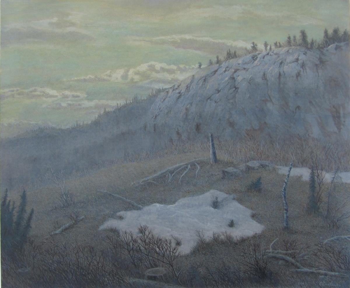 Выставка художника Олега Юнтунена «Острова»