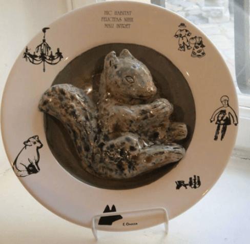 Выставка «Сто тарелок»