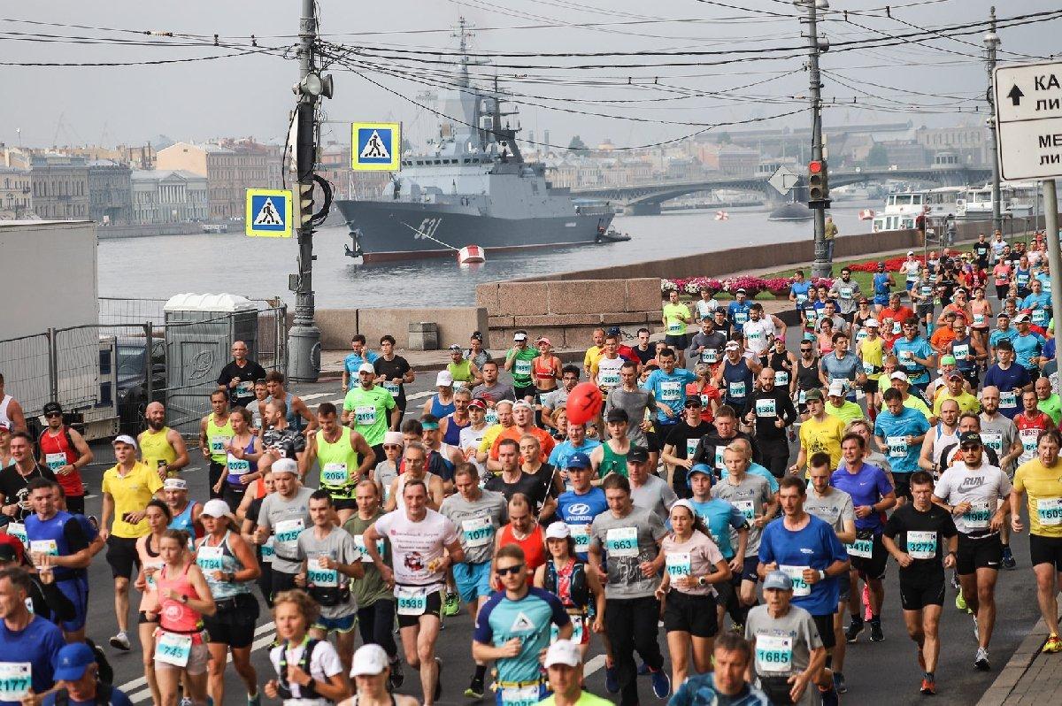 Международный марафон «Белые ночи» 2019