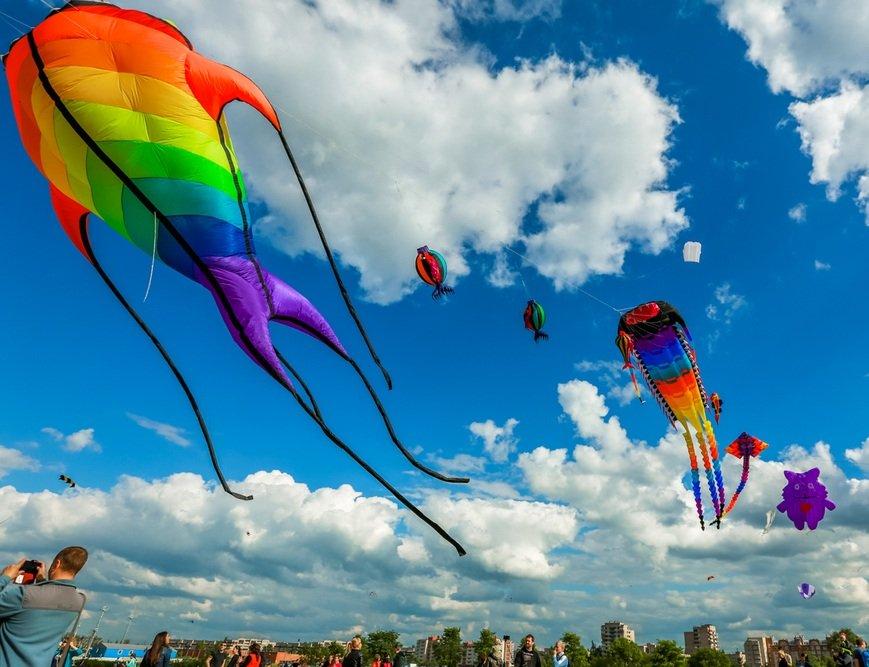 Пушкинский фестиваль воздушных змеев 2016