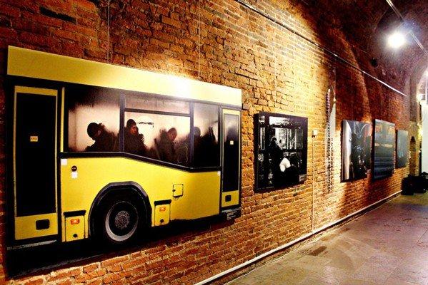 Выставка «Автобус влюбимом городе» 2016