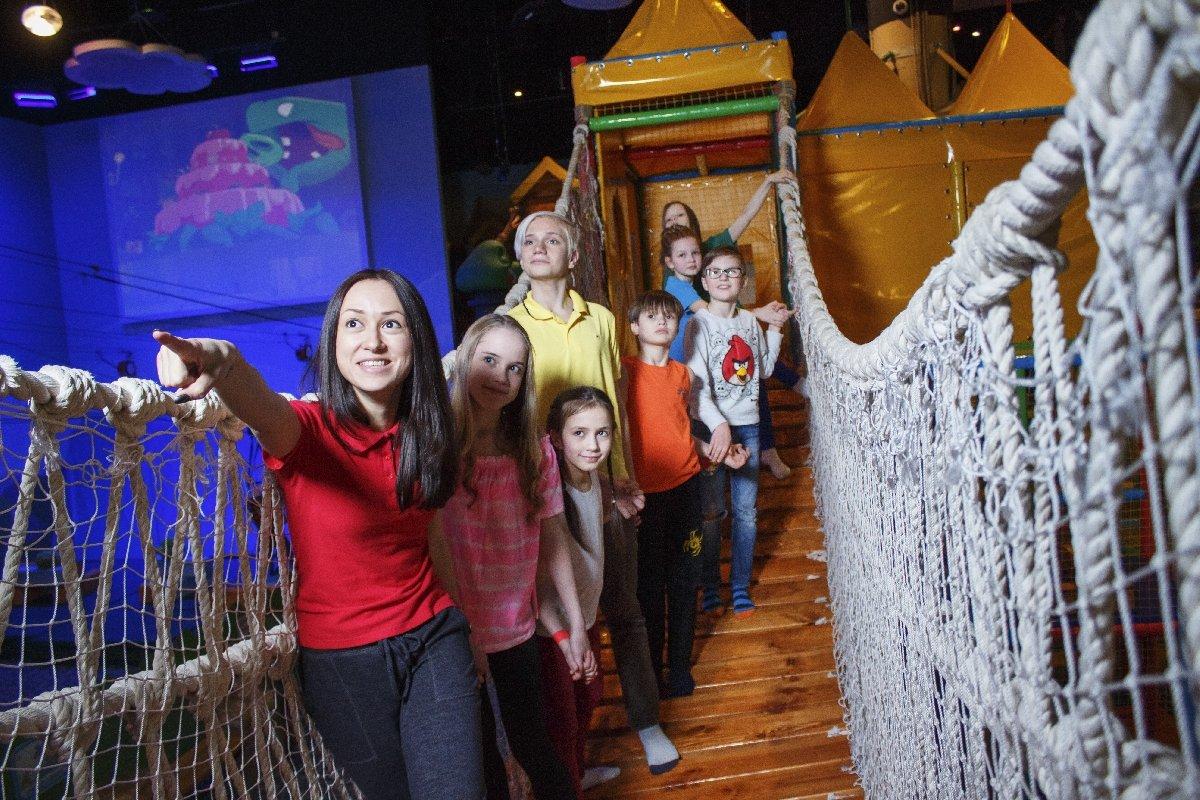 Открытие Парка развлечений «Angry Birds Activity Park»