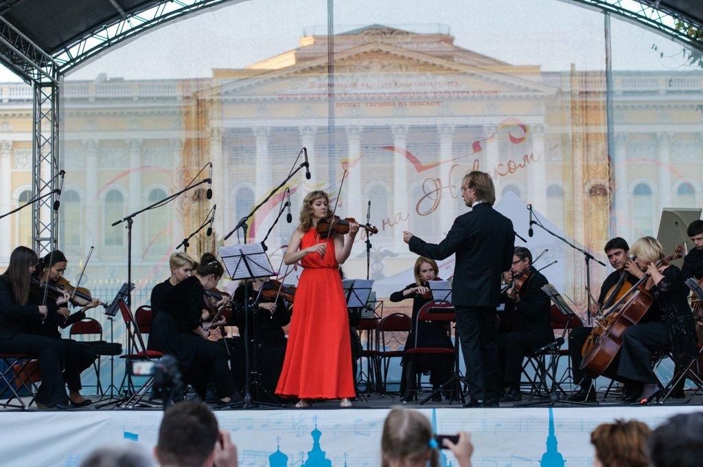 Проект «Скрипка наНевском» 2017