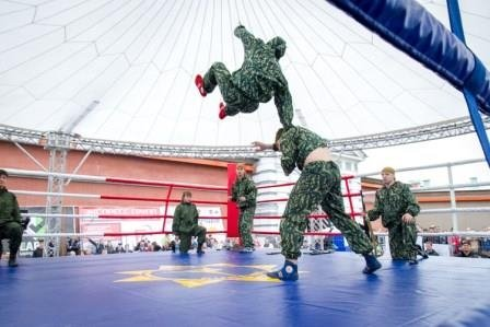 Спортивно-патриотический праздник «Дружба народов»