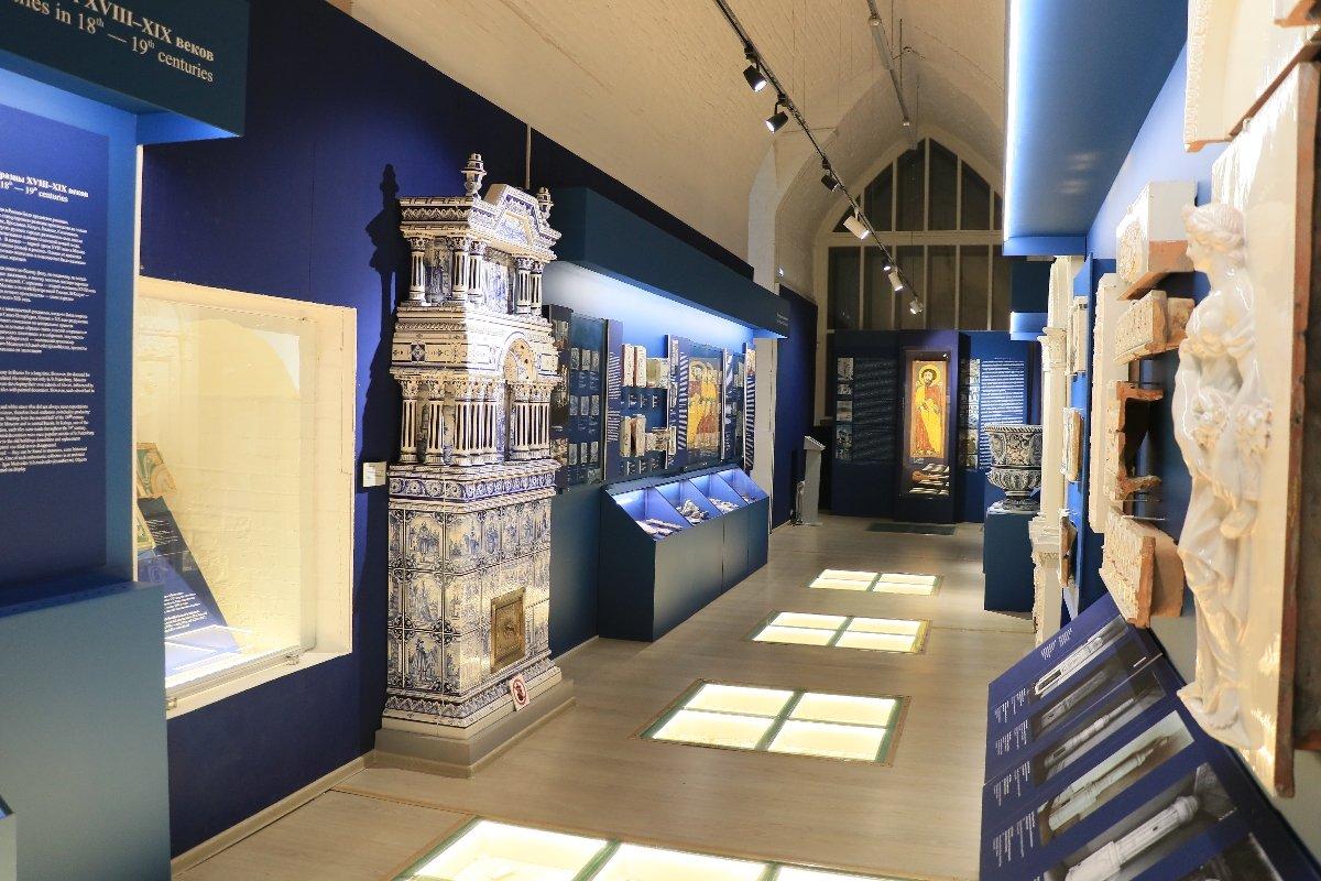 Онлайн открытие зала вМузее архитектурной керамики