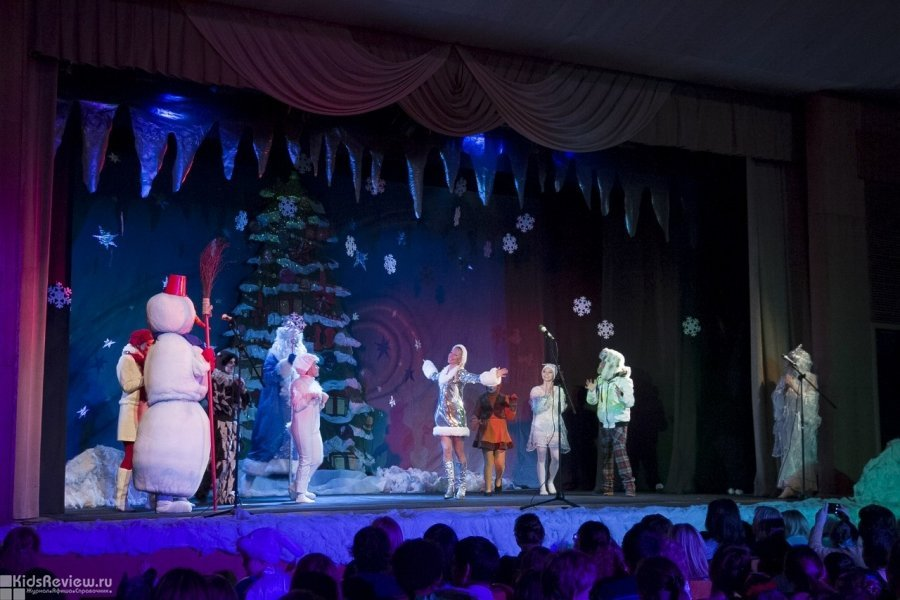 Представление для детей «Планета Новогодних Ёлок-2019»