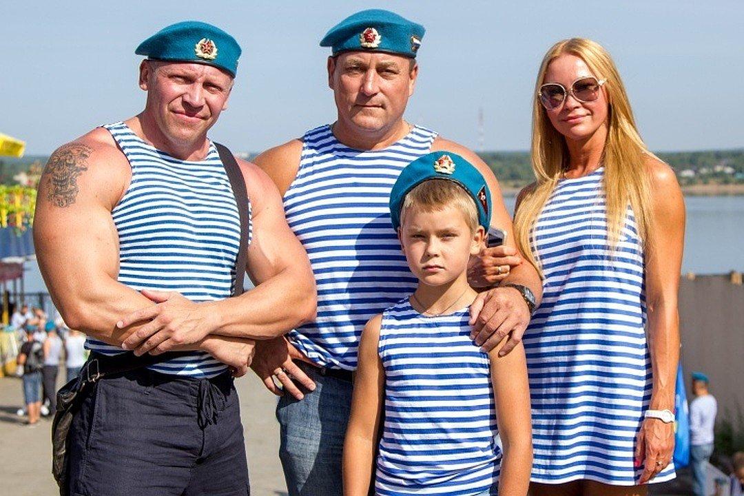 День Воздушно-десантных войск вСанкт-Петербурге 2018