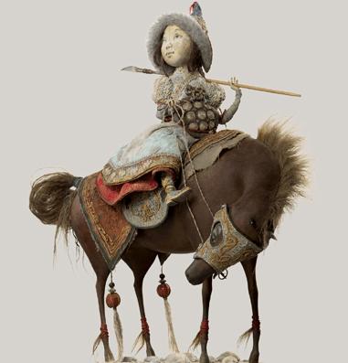Выставка «''Ульгер'': авторские куклы семьи Намдаковых»