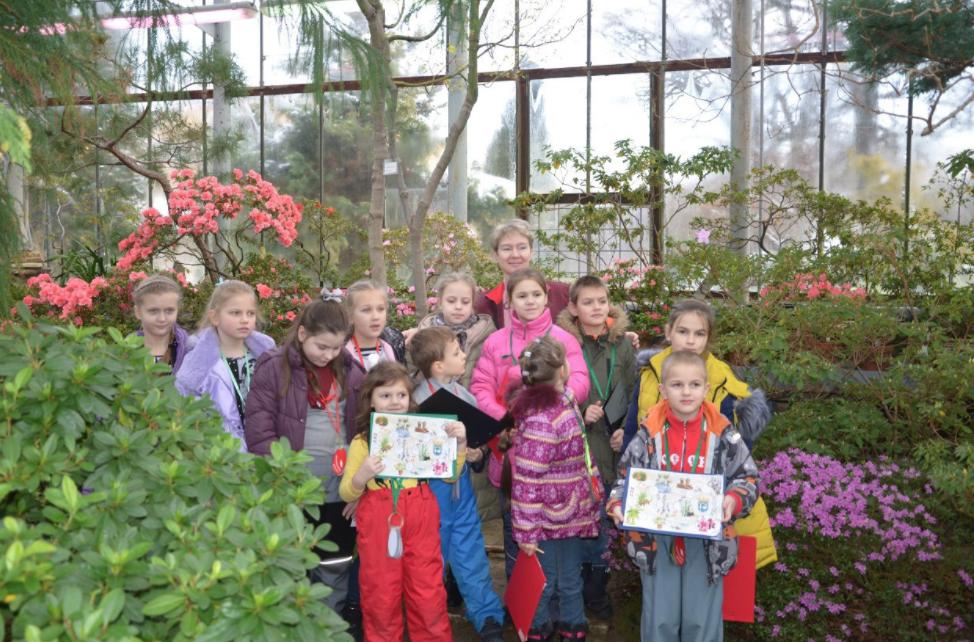 Программа для детей ивзрослых вБотаническом саду