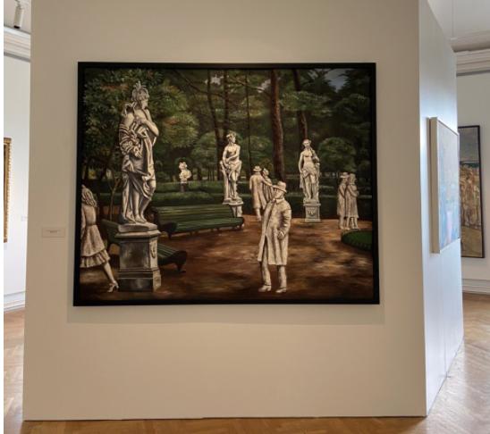 Выставка «Пейзаж вскульптуре. Скульптура впейзаже»