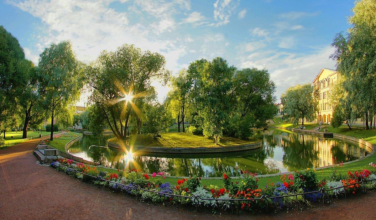 Сад «Дворца Юсуповых»