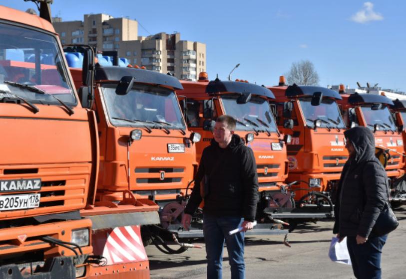 Месячник благоустройства вСанкт-Петербурге 2020